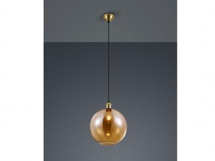 1 flammige LED Pendellampe Lampenschirm Ø30cm Rauchglas - für EsstischLampen