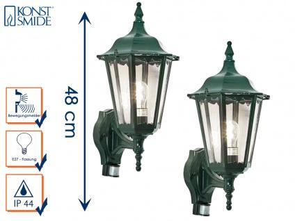 2er-Set Aussenwandleuchten mit Bewegungsmelder Wandleuchte Wandlampe