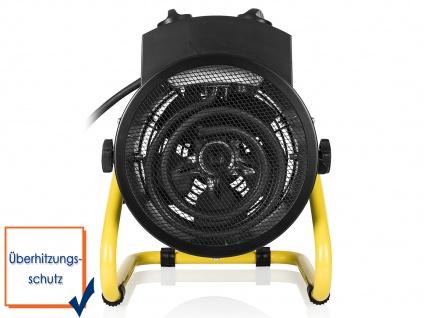 Elektroheizung mit Ventilator-Funktion 1500-3000 Watt Spritzwassergeschützt IPX4