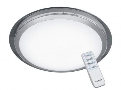 Flache LED Deckenleuchte rund mit Nachtlichtfunktion dimmbare Esszimmerleuchten