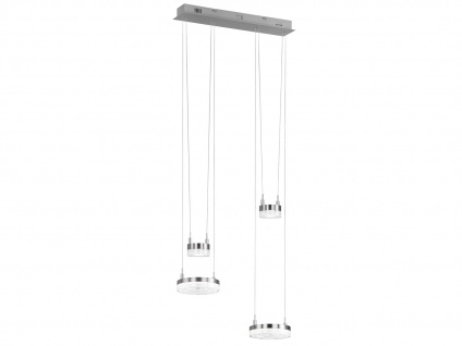 Höhenverstellbare LED Pendelleuchte dimmbar 17W B. 45cm Esstischlampe Bürolampe