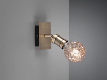 Einflammiger Wandstrahler für den Innenbereich mit schwenkbarem E27 Metall Spot