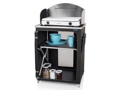 Kleine mobile OUTDOOR Campingküche faltbar Campingschrank Küchenschrank Modul