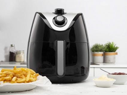 Heißluftfritteuse XXL Umluft Crispy Fryer, frittieren ohne Öl, 4, 5 Ltr. 1500Watt - Vorschau 2