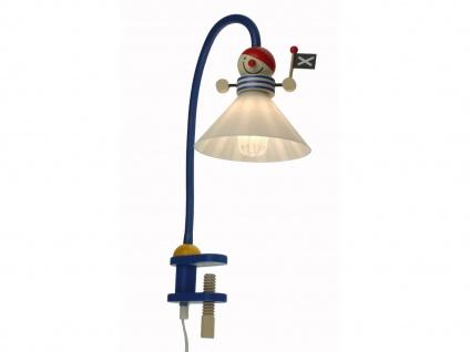 Klemmleuchte Klammerleuchte PIRAT sehr flexibel gezieltes Licht im Kinderzimmer