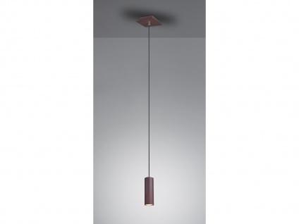 Metall Hängelampe LED Pendel Esstischlampe Wohnraumleuchte, Flurlampe rostfarbig