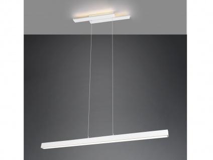 LED Pendelleuchte Weiß mit 3 Stufen Dimmer schmale Lampen für über Esstisch