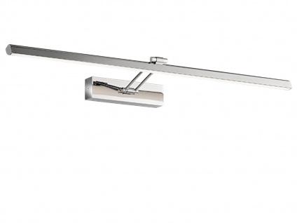 Schwenkbare Honsel LED Badezimmerwandleuchte Spiegellampe 90cm, Badbeleuchtung