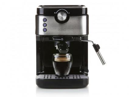 Espressomaschine mit Milchaufschäumer & Milchkännchen, Siebträger Kaffeemaschine - Vorschau 3