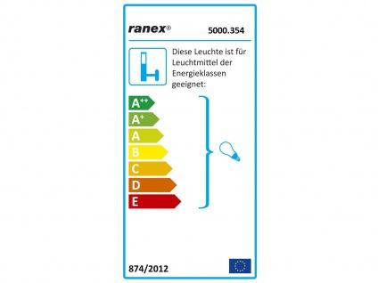 Ranex 300W Halogenstrahler Weiß IP33, Außenstrahler Gartenstrahler Flutlicht - Vorschau 4