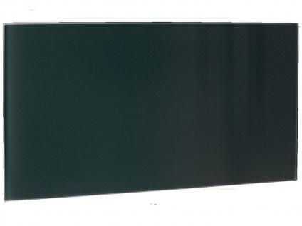 850W Glasheizpaneel, Infrarotheizung schwarz, Glaspaneel rahmenlos, Vitalheizung - Vorschau 2