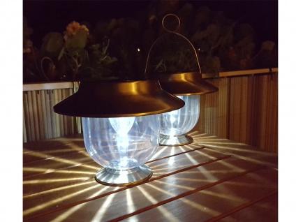 2er-Set Solarlaternen MAGRET Solarleuchte Solarlampe mit Dämmerungssensor - Vorschau 3