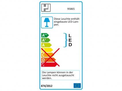 2er Set LED Schreibtischleuchte neigbar Touchdimmer USB Anschluß Silber Büro - Vorschau 4