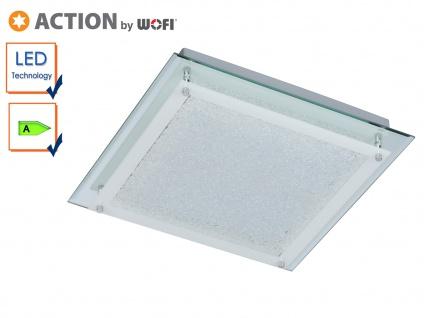 LED Deckenleuchte MORA, 30x30 cm, LED Deckenlampen Deckenleuchte Deckenlampe