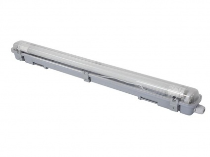 LED Deckenleuchte Wandlampe wasserfest 65, 5cm - T8 Lampe für Keller & Werkstatt