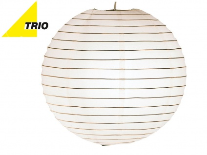 Trio Lampenschirm Japan-Kugel PAPER Papier weiß Ø 40cm, Pendelleuchte Lampion