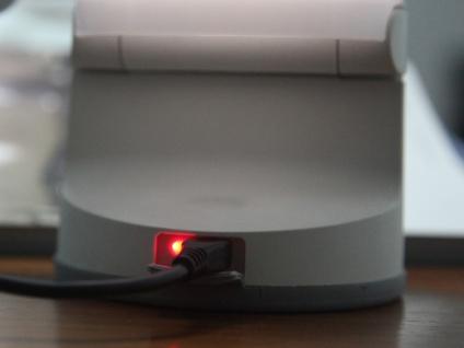 Universal LED Solarleuchte mit USB Ladefunktion dimmbar IP54 H. 28, 2cm Weiß - Vorschau 3