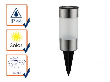 Solarbetriebene Gartenleuchten für draußen - LED Außenleuchten im 3er SET, IP44 - Vorschau 3