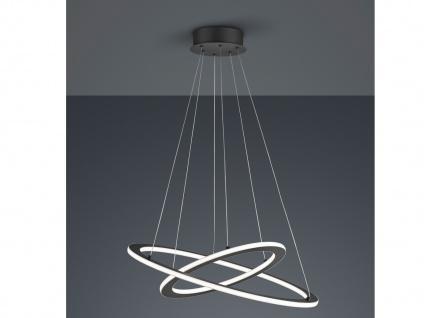 LED Pendelleuchte Anthrazit mit 3 Stufen Dimmer coole Lampen für über Esstisch