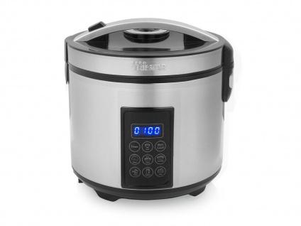 Digitaler Dampfgarer & Reiskocher groß für Reis Gemüse & Babybrei - Multikocher
