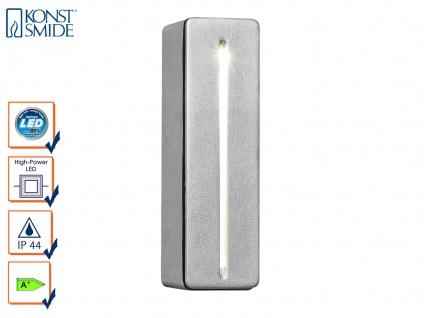 Schlanke Außenwandleuchte Wandleuchte IMOLA, 3 Watt HP-LED, IP44