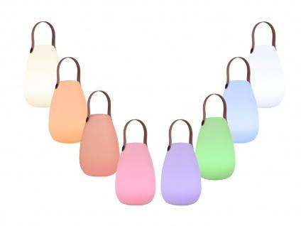 LED Tischleuchte für Außen mit Farbwechsel & Akku Batterie OUTDOOR Tischleuchte - Vorschau 4