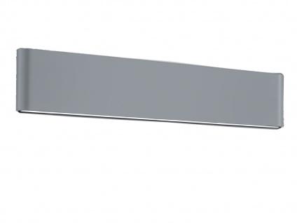 LED Außenwandlampe mit UP and DOWN grau Breite 46, 5cm - moderne Hausbeleuchtung - Vorschau 2