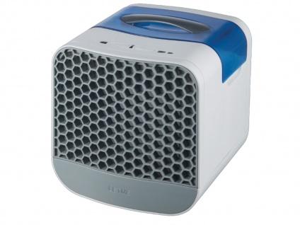 Praktischer Tischventilator Cube mit abnehmbarem 750 ml Wassertank 6 Watt