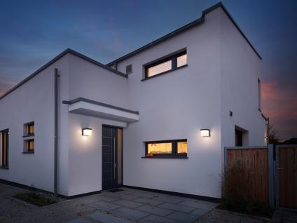 Eckige LED Außenwandleuchten Anthrazit 2 Außenleuchten für Hauswand Außenbereich - Vorschau 5
