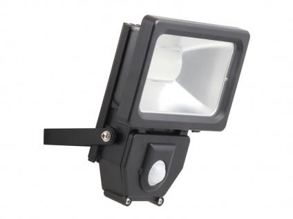 LED Flutlichtstrahler mit Bewegungsmelder, 10W, 650 Lumen, IP44, 4000K