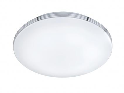 LED Deckenleuchte Badezimmerlampe APART Chrom Acryl weiß Ø 41 cm - Vorschau 2