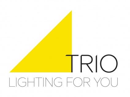 Trio Tischleuchte COSINUS mit LED Lampenschirm Stoff grau, Tischlampe Wohnzimmer - Vorschau 4