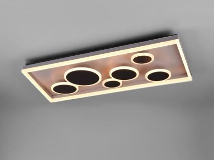 Rechteckiges LED Deckenpanel - beleuchtete Wandlampe Wandobjekt für große Räume