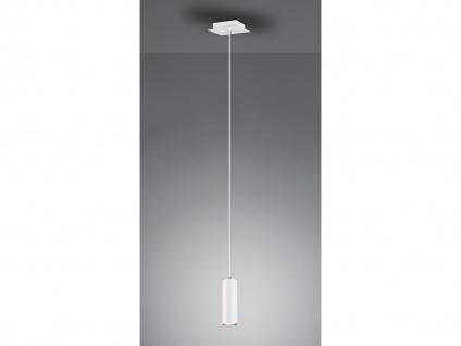 Pendelleuchte mit LED für Wohnzimmer, Schlafzimmer, Küche & Flur aus weißem Metall