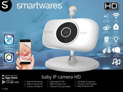 Netzwerk IP-Kamera, Temperatur- Luftfeuchtigkeitssensor Nachtlicht IOS + Android