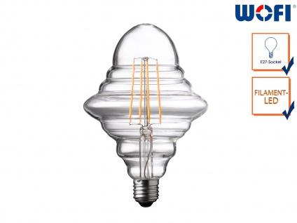 FILAMENT LED Leuchtmittel Rautenform 4 Watt, 300 Lumen, 1800 Kelvin, E27-Sockel