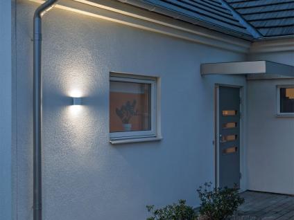 2er-Set Up-/Down Außenwandleuchten Wandleuchten CHIERI weiß 6 Watt-LED 450 Lm - Vorschau 4