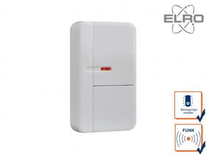 Smart Home Türkontakt Fenstersensor ELRO Alarmanlage AS8000 Handy App Funksensor