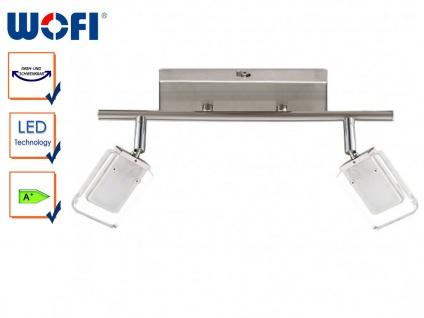 2-flammige LED-Deckenleuchte, Spots schwenkbar, Wofi-Leuchten