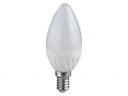 LED Leuchtmittel E14, Kerze matt, 6 Watt warmweiß 470 Lumen, 3000 Kelvin, Trio - Vorschau 2