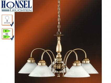 Elegante 5-flammige Pendelleuchte Antwerpen, Ø 67 cm Honsel-Leuchten