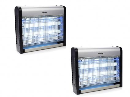 2er Set Insektenvernichter mit UV-Lampe 2 x 10 Watt Hochspannung 2200-2400 Volt - Vorschau 2