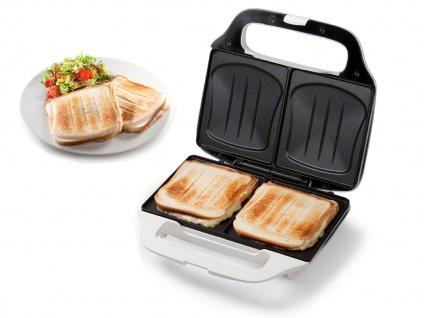 XL 2in1 Sandwichmaker Paninitoaster Elektro Kontaktgrill Toaster Snackmaker 900W