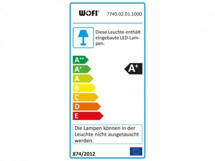 LED Deckenleuchte, Deckenstrahler Retro, Spots schwenkbar, Chrom, Wofi-Leuchten - Vorschau 4
