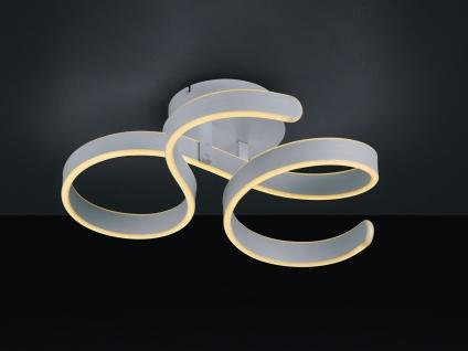 Runde Deckenlampe geschwungen Flurlampe, Küchendeckenleuchte großer Durchmesser
