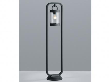 LED Außenwegeleuchte Anthrazit moderne Laterne Outdoor Stehlampen für den Garten