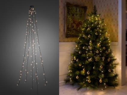 Lichterkette für Innen 200 LED´s Weihnachtsbaum Beleuchtung Christbaum Haus - Vorschau 2