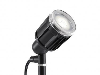 2er-Set LED-Stableuchten Erdspießleuchten Gartenspot Gartenstrahler AMALFI - Vorschau 3