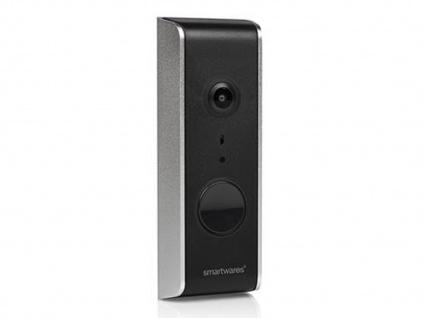 WiFi Videotürklingel HD Kamera, Haussprechanlage mit Nachtsicht, Smartphone App - Vorschau 1