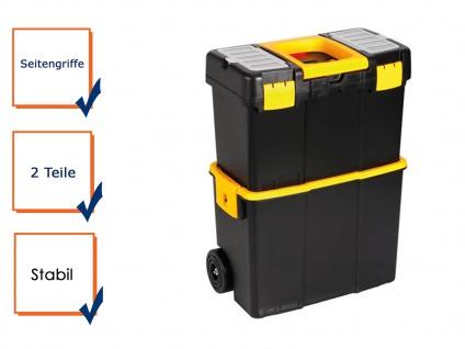 Werkzeugtrolley Werkzeugkasten Werkzeugkoffer Trolley Kunststoff H: 62cm
